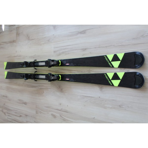 0610  FISCHER RC4  World Cup SC Yellow Base Curv Booster, L170cm, R14m
