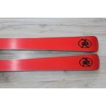 00216  AK RED,  L170cm, R14m Handmade masterpiece from Switzerland