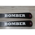 00125 Original BOMBER Ski Pro Carve White,  L156cm, R14m