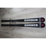 00126 Original BOMBER Ski Pro Carve White,  L156cm, R14m
