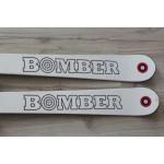 00124 Original BOMBER Ski Pro Carve White,  L166cm, R16m