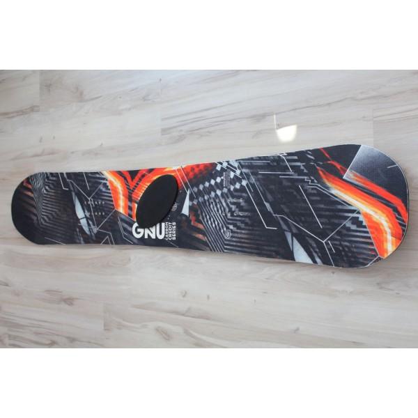 811 Snowboard GNU Carbon Credit  159cm