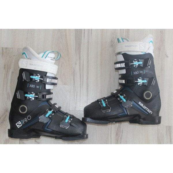 8054  SALOMON X PRO, 26- 26,5,  UK 7- 8, EU 41- 42, 304mm, flex 80