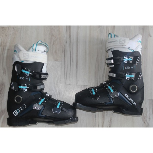 8061 SALOMON X PRO, 25- 25,5, UK 6,5, EU 40, 294mm, flex 80 - 2020