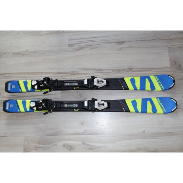 0912  SALOMON X RACE JR, L 110cm, R8m